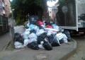Represados vehículos recolectores de basura