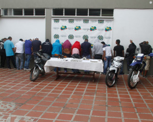 """Desarticulada estructura sicarial """"Los Ciro"""" al servicio de """"Guacamayo"""""""