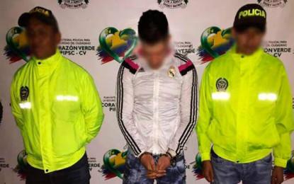 Capturado alias 'Fresa' perteneciente a 'Los rastrojos'