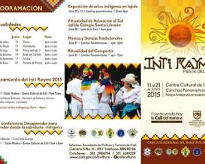 Programación del Inti Raymi o 'Fiesta del Sol'