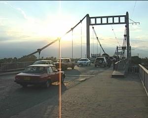 El puente de Juanchito será nuevamente sometido a cierres parciales por arreglos.