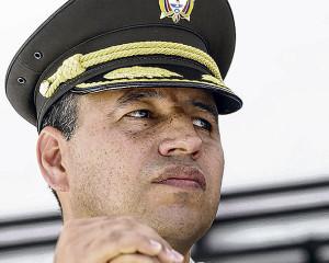 Coronel Fernando Murillo comandante dela policía del Valle, entre los 11selecionados para el curso Cesep