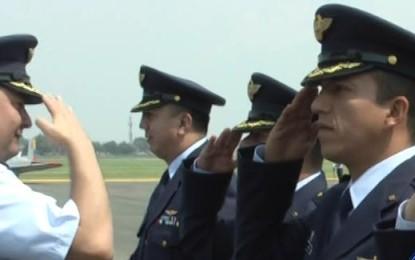 Fuerza Aérea realizó ceremonia de ascenso a oficiales de la institución