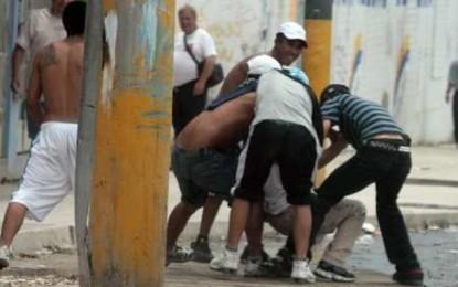 """Capturados, alias, """"Guaraña"""" y """"El Indio"""", presuntos pertenecientes a la pandilla """"El Pozo"""""""