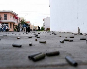 En balacera terminó fiesta en zona de Los Chorros