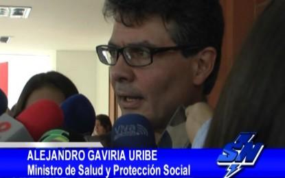 Ministro de salud aseguro que en Colombia no se presentan muertes  por negligencia médica