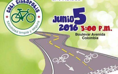 Domingo 5 de junio circuito cultural en bicicleta por Cali