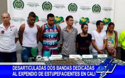 """Cayeron """"Los Mayarino"""" y """"La Mazamorrera"""" organizaciones de expendio de droga en Cali"""
