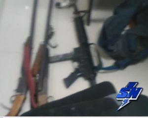 4 capturados en Tuluá por almacenar armas de fuego de uso privativo