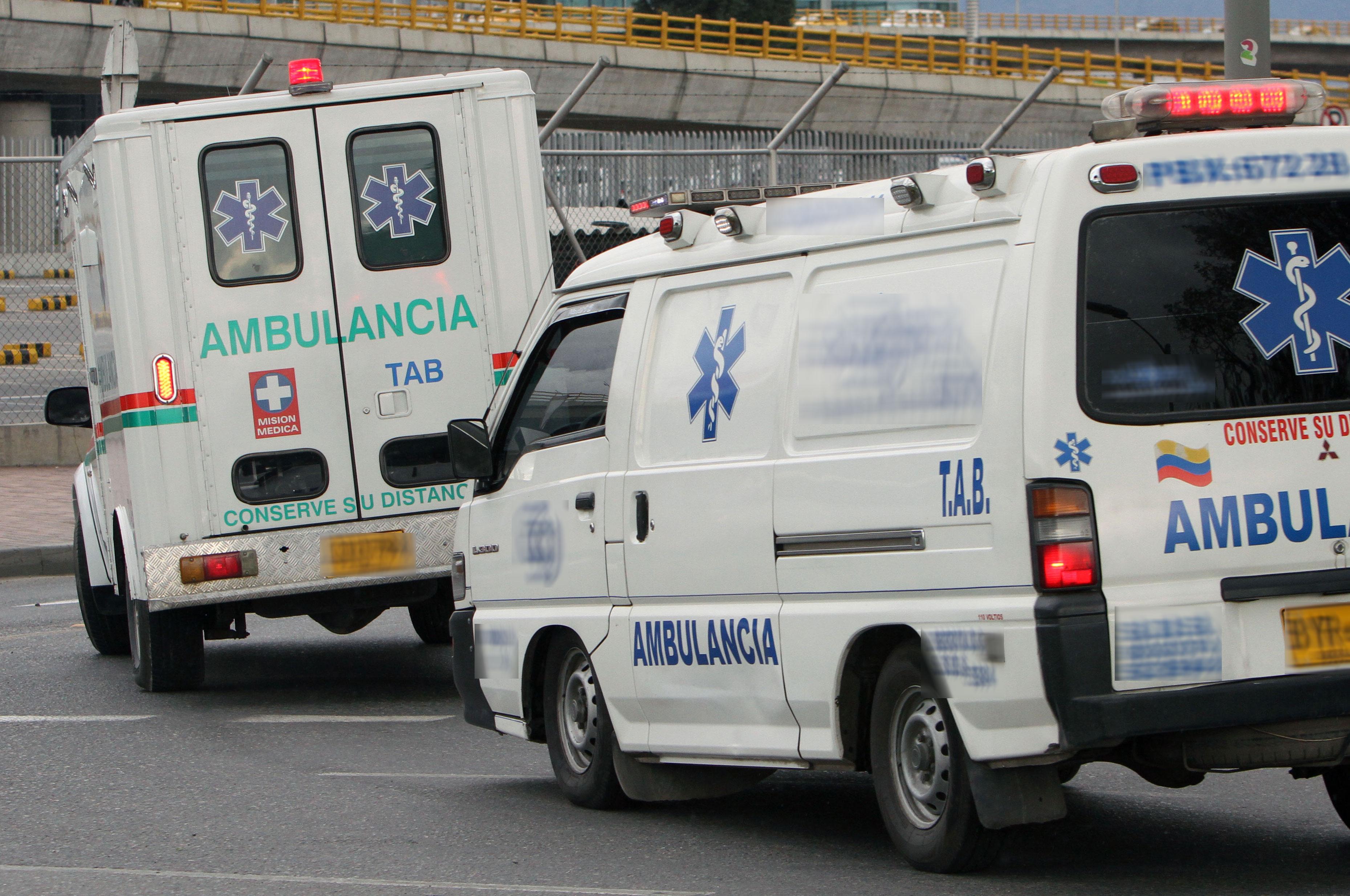 Fotos de ambulancias en accidentes 93