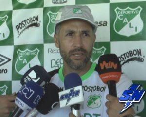 Entrevista a el Técnico del Deportivo Cali Mario Alberto Yepes