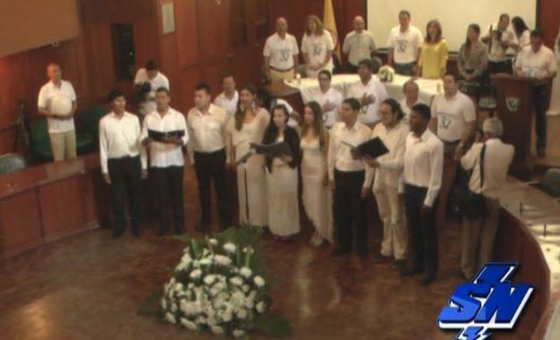 32 asambleas departamentales realizaron acto de apoyo al acuerdo de paz