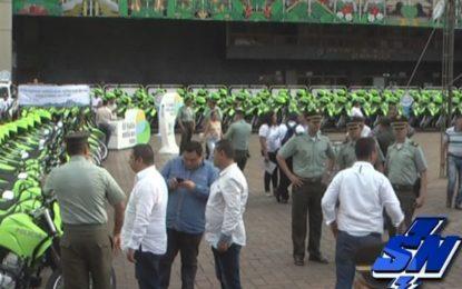 CAI Móviles y motos para reforzar seguridad en el Valle