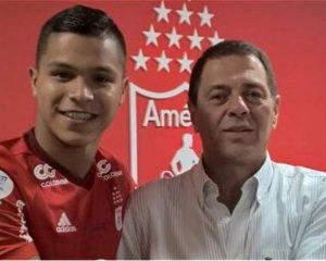 "Juan Camilo ""cucho"" Hernández debutará hoy ante Jaguares de Córdoba"