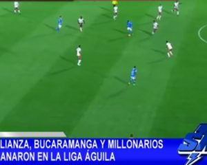 Alianza, Bucaramanga y Millonarios ganaron en Liga Aguila