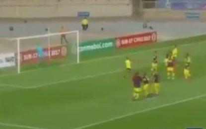 Selección Colombia debutó con Victoria en Sudamericano Sub 17