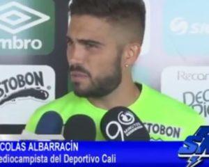 Éxito del Deporcali en Liga ha sido el orden y la eficacia: Nicolás Albarracín