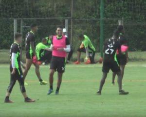 Deportivo Cali se prepara para partido ante patriotas