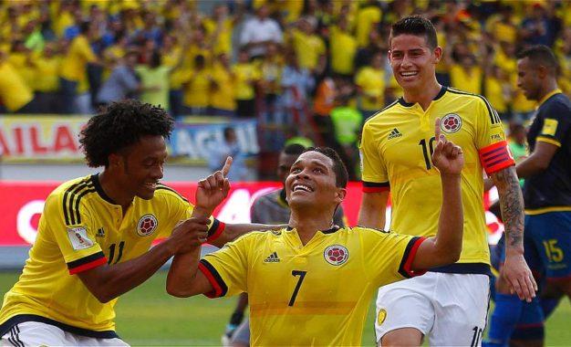 Colombia visita a Ecuador hoy a las 4:00 pm por eliminatorias