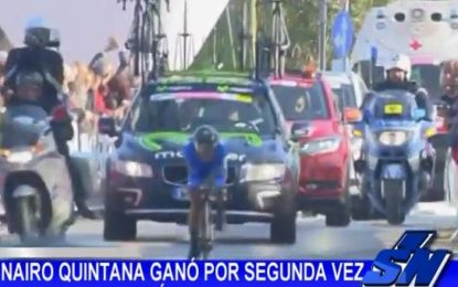 Nairo Quintana ganó por segunda vez la Tirreno Adriático