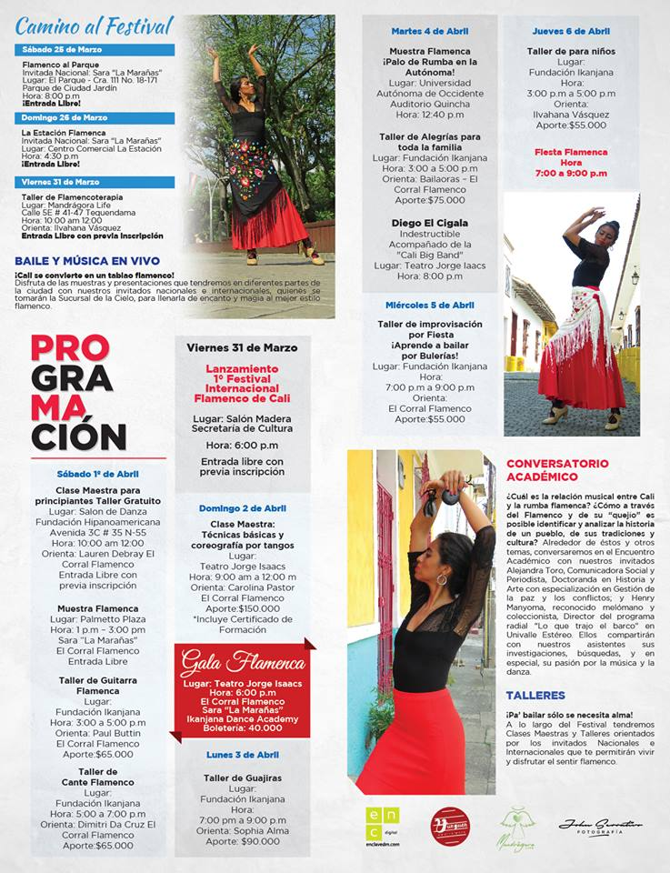 Programacion Festival Flamenco