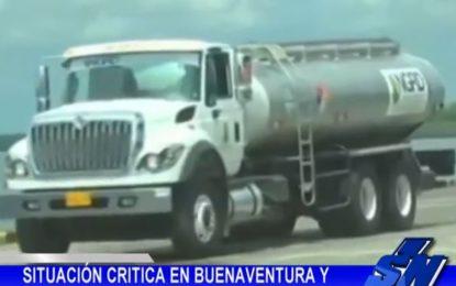 Situación crítica por falta de agua en Buenaventura y emergencias por lluvias en el Valle