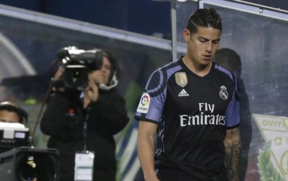 James Rodríguez y su presente en el Madrid