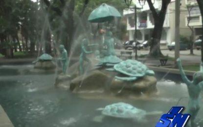Recuperado el Parque de la Tortuga que había sido destruído por vándalos