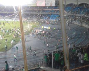 Tres heridos y 85 detenidos, balance del partido Deportivo Cali-América