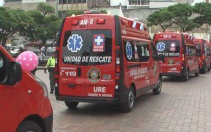 Bomberos de Cali denuncian inmovilización de sus ambulancias