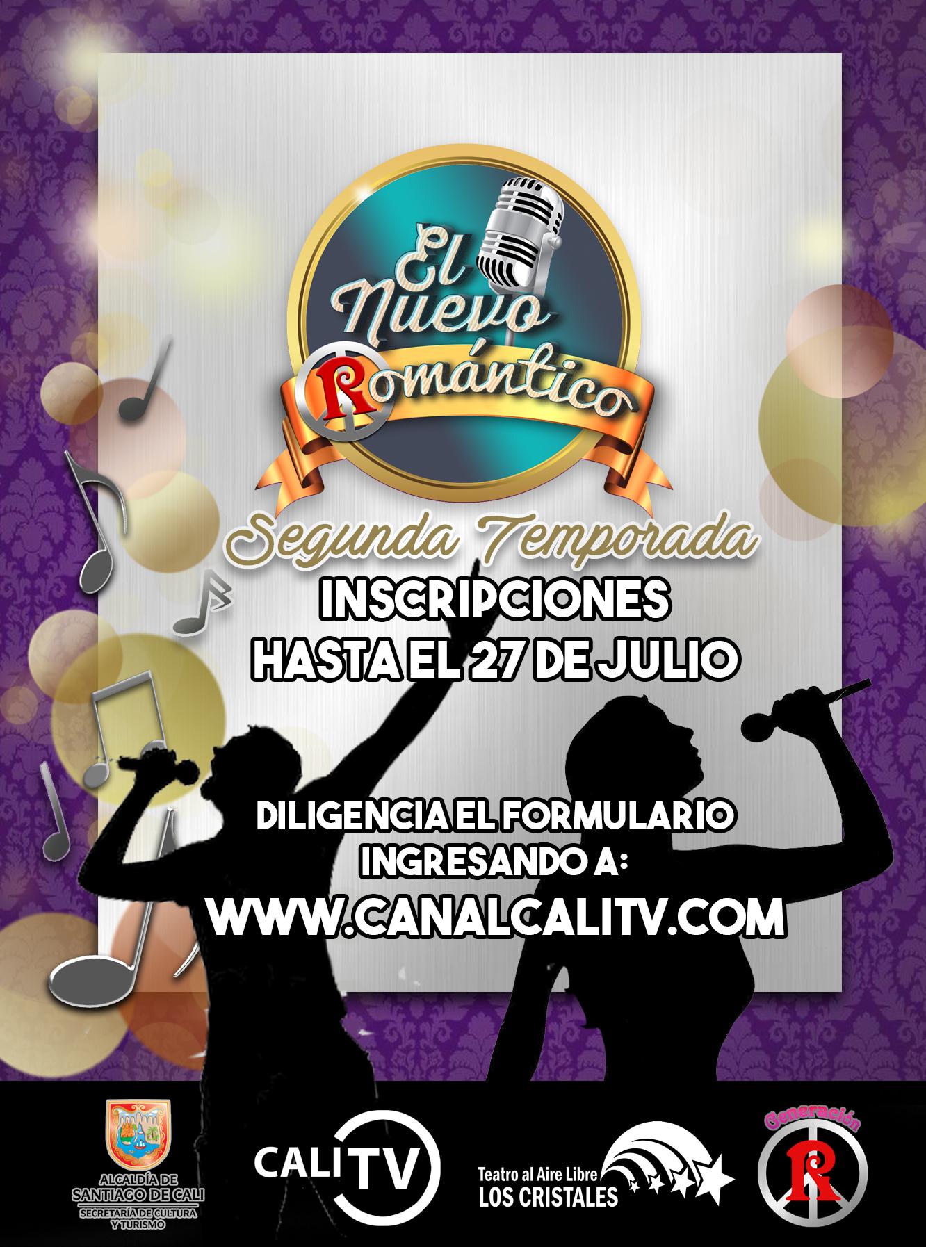 """Están abiertas las inscripciones para el concurso de canto """"El Nuevo Romántico 2017"""""""