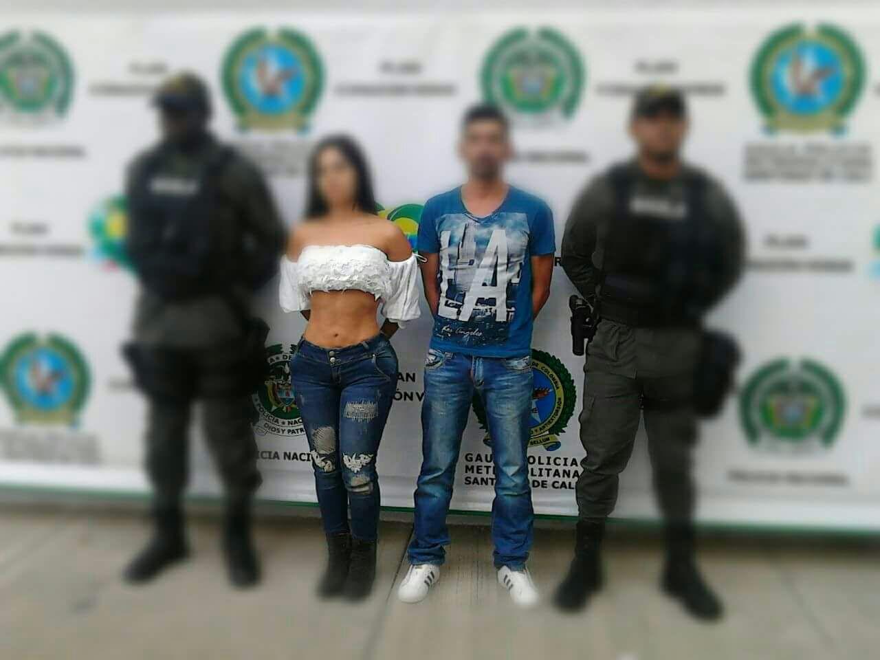 Modelo y presentadora de canal local de Cali capturada por secuestro