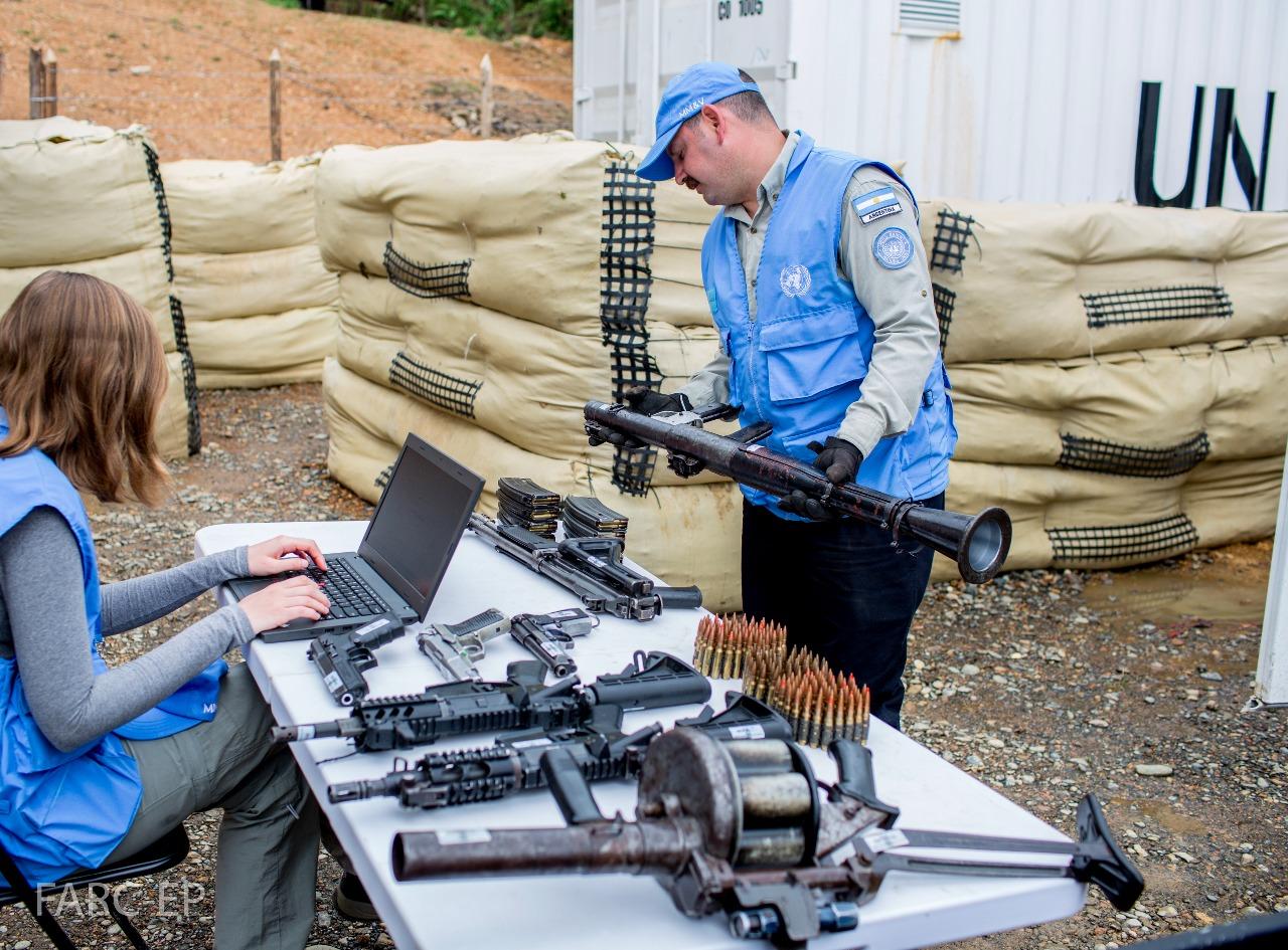 En fotos: El camino a la paz de Colombia, Farc continúan desarmándose
