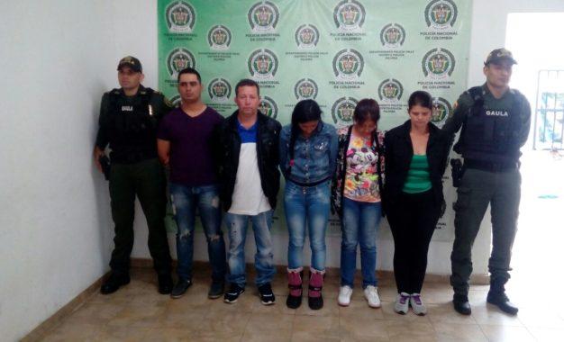 Capturadas 5 personas que se hacían pasar por policías en Palmira