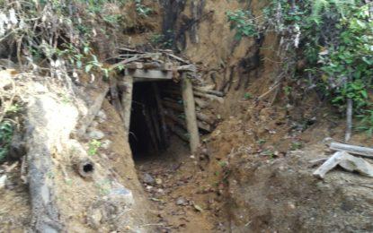 La Policía y el Ejército Nacional desarrollaron una Operación contra la minería ílegal de Oro