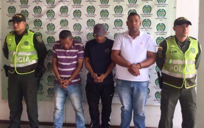 Los capturaron cuando huían después de cometer atentado sicarial