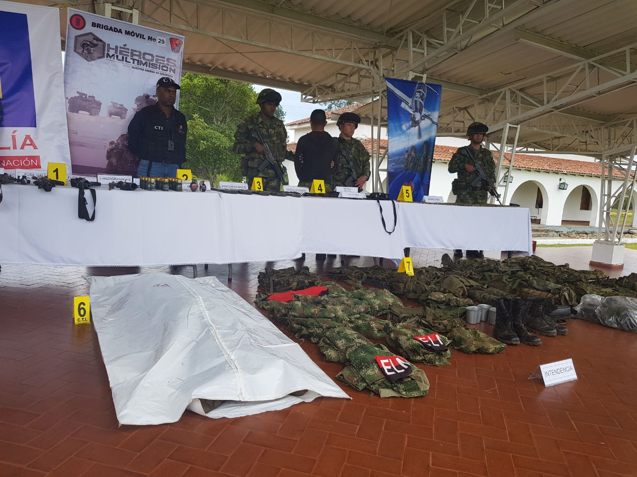 Neutralizados en combate guerrilleros del Eln, responsables de acciones terroristas en el norte del Cauca