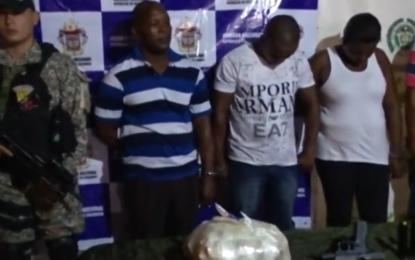 Líder comunitario y escolta de la UNP en Tumaco llevaban droga en el carro