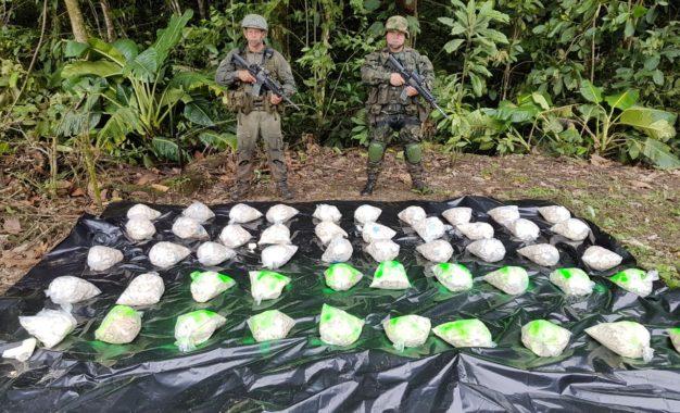 Cerca de una tonelada de cocaína incautada en Mosquera- Nariño