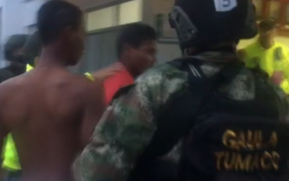 """En Tumaco capturan a siete personas al servicio de alias """"Guacho"""""""