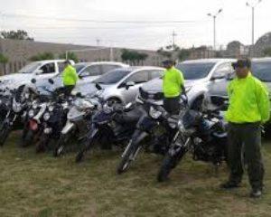 Autoridades recuperaron 10 motos y un vehículo en Palmira y Cali