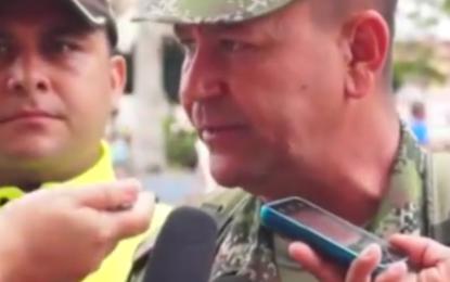 Ciudadano Colombo- Español resultó herido al ser rescatado de un secuestro