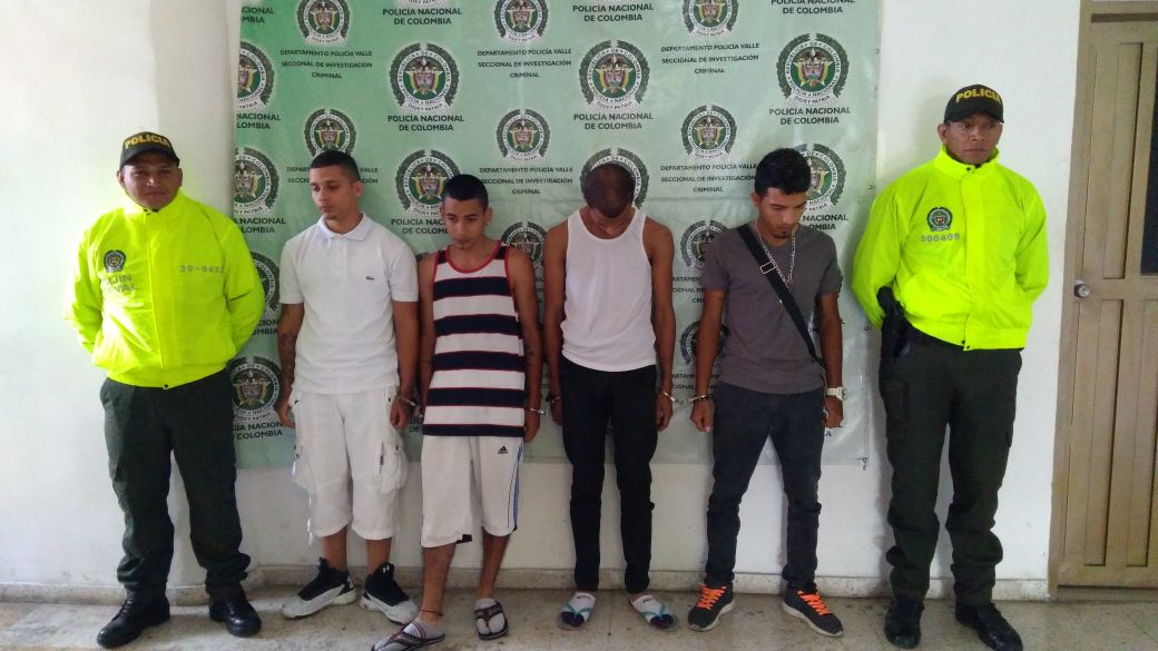A la cárcel tres integrantes de banda delincuencial  dedicada al hurto a Tiendas en Palmira