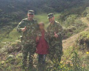 Rescatan a menor que había sido secuestrada en  Nariño