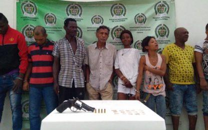 "Desarticulada banda criminal ""los del Loreto"" en Palmira"