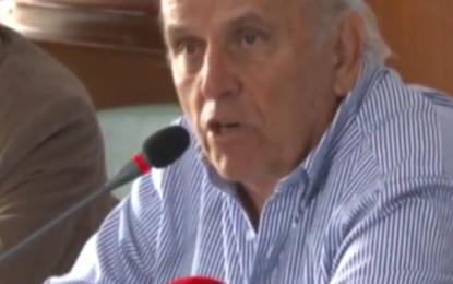 Entre lágrimas alcalde anuncia plan para salvamento del MIO