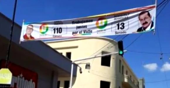 Exceso de vallas con publicidad política será controlado con decreto