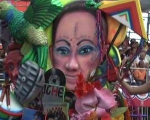 Así disfrutaron los asistentes al carnaval de Cali Viejo