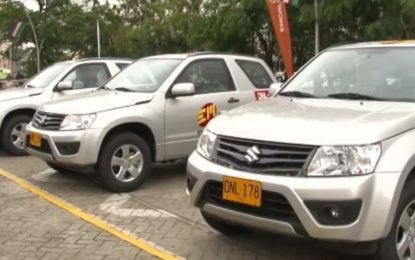 56 Vehículos fortalecerán el parque automotor de Emcali