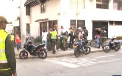 Autoridades al fin lograron ingresar al Barrio La Campiña